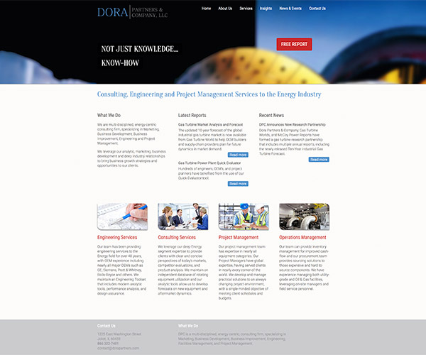 Dora Partners Website